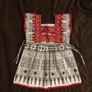 チチカカ(titicaca)のチェンマイ モン族 キッズワンピース(ワンピース)