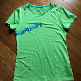 マムート(Mammut)のマムート リュンジュ Tシャツ レディース 緑(登山用品)