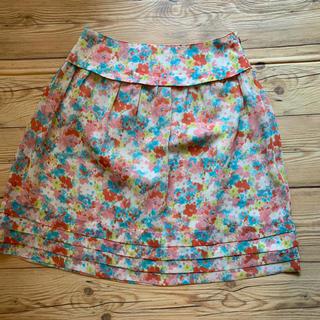 ベルメゾン(ベルメゾン)の【難あり 】 花柄スカート(ひざ丈スカート)