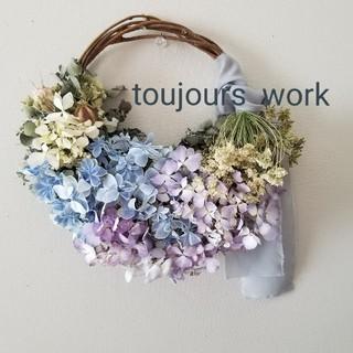ドライフラワーリース◆flower◇(ドライフラワー)