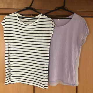 ユニクロ(UNIQLO)のユニクロ Tシャツ 2枚セット(Tシャツ(半袖/袖なし))
