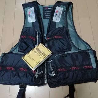 新品、未使用 救命胴衣 ライフジャケット フローティングベスト 釣りベスト(ウエア)