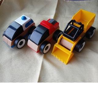イケア(IKEA)のIKEA LILLABO イケア リラブー(電車のおもちゃ/車)
