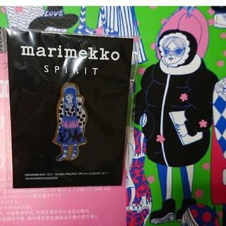 マリメッコ(marimekko)の【ピンズ】マリメッコスピリッツ限定品 ピンバッジ(バッジ/ピンバッジ)