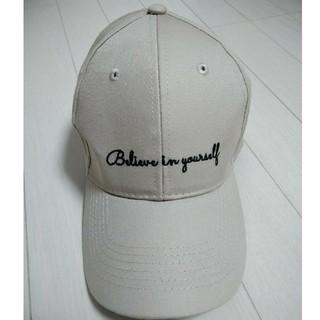 ウィゴー(WEGO)の帽子 キャップ ベージュ(キャップ)
