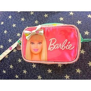 ed5cea8c57 Barbie - Barbie バービー ビビット ピンク ポーチ 新品 タグ付 化粧 ...
