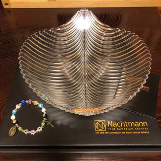 ナハトマン(Nachtmann)のNachtman クリスタルボウル  マンボ25センチ おまけつき(調理道具/製菓道具)