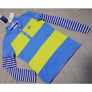 アディダス(adidas)の2枚で アディダス ポロシャツ&長袖シャツ 11880円 L 吸汗速乾  伸縮(ウエア)