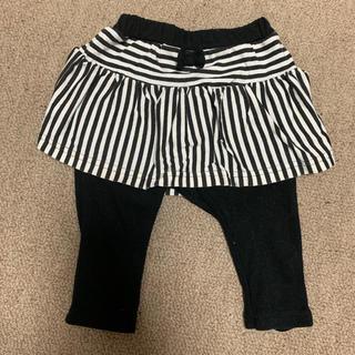 ニシマツヤ(西松屋)の西松屋 レギンス付きスカート 60~70cm(スカート)