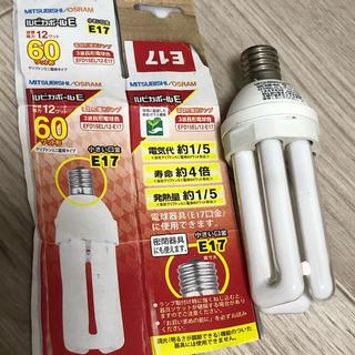 ミツビシ(三菱)の三菱 ルピカボールE EFD15EL/12-E17 電球色 (蛍光灯/電球)