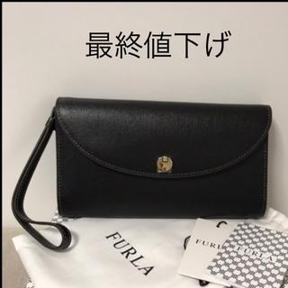 フルラ(Furla)の最終値下げです❗️ 【新品】フルラ★ストラップ付き長財布★(箱なし)(財布)