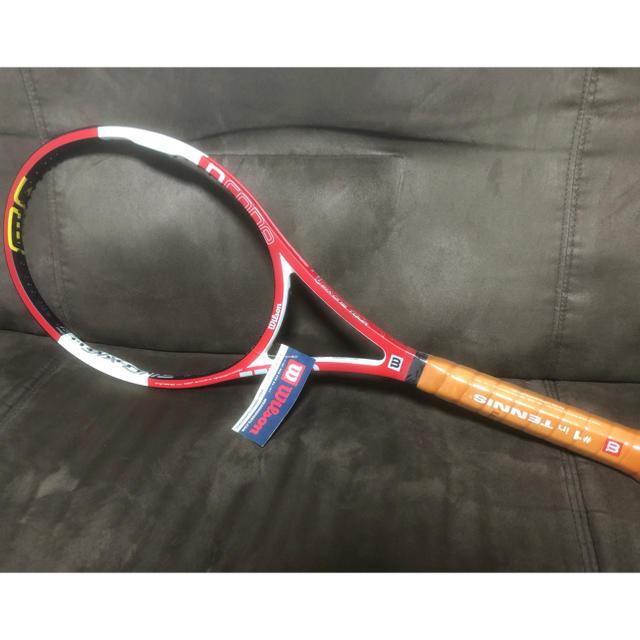 wilson(ウィルソン)の限定2000本【新品未使用】ncode six one tour90 製造終了品 スポーツ/アウトドアのテニス(ラケット)の商品写真