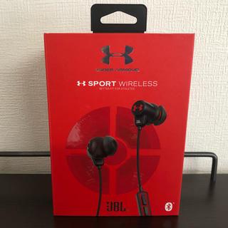 アンダーアーマー(UNDER ARMOUR)のアンダーアーマー JBL スポーツワイヤレス Bluetoothイヤホン(ヘッドフォン/イヤフォン)