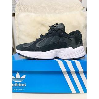 アディダス(adidas)のadidas スニーカー アディダス yung-1 ヤングワン ブラック(スニーカー)