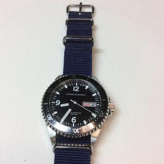 アーバンリサーチ(URBAN RESEARCH)の【専用】アーバンリサーチ  ダイバーウォッチ  10気圧防水 電池交換済(腕時計)