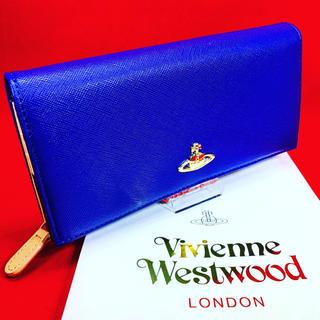 ヴィヴィアンウエストウッド(Vivienne Westwood)のVivienne Westwood 財布 ホック開閉 64VV406 BLUE(財布)