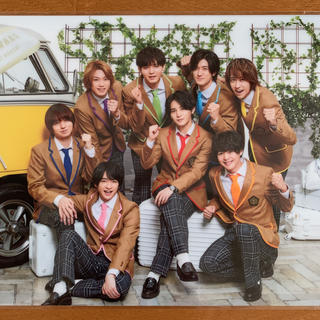 Hey! Say! JUMP - 嵐のワクワク学校2019・クリアファイル(生徒集合)Hey! Sey! JUMP