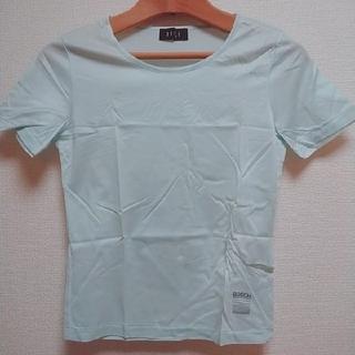 ボッシュ(BOSCH)のBOSCHボッシュアイスブルー水色爽やか薄手Tシャツ(Tシャツ(半袖/袖なし))