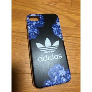 アディダス(adidas)のadidas iPhone7.8ケース  紫陽花(iPhoneケース)