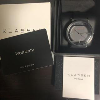 ビームス(BEAMS)のKLASSE14 腕時計 インパワーフェクトこ(これ以上の値下げはありません)(腕時計(アナログ))