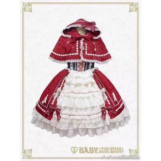 ベイビーザスターズシャインブライト(BABY,THE STARS SHINE BRIGHT)のおとぎの国の赤ずきんちゃんジャンパースカート 4点セット(その他)