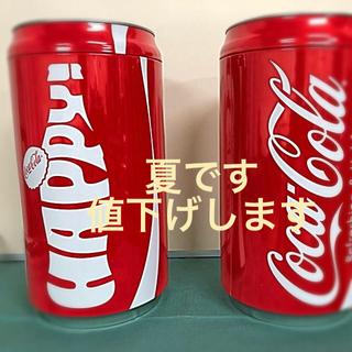 コカ・コーラ - コカコーラ ハッピーサマー缶ビーチサンダル【2個セット】