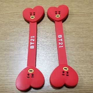 ボウダンショウネンダン(防弾少年団(BTS))のタタ2本セット☆(日用品/生活雑貨)
