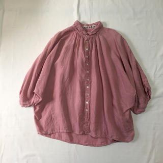 ドミンゴ(D.M.G.)のBrocante リネンシャツ(シャツ/ブラウス(長袖/七分))