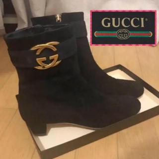 グッチ(Gucci)の美品♡GUCCI ショートブーツ  サイズ36  (ブーツ)