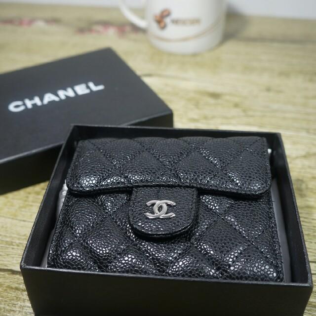 CHANEL - CHANEL シャネル 財布 ブラックの通販 by ゲズニ's shop|シャネルならラクマ