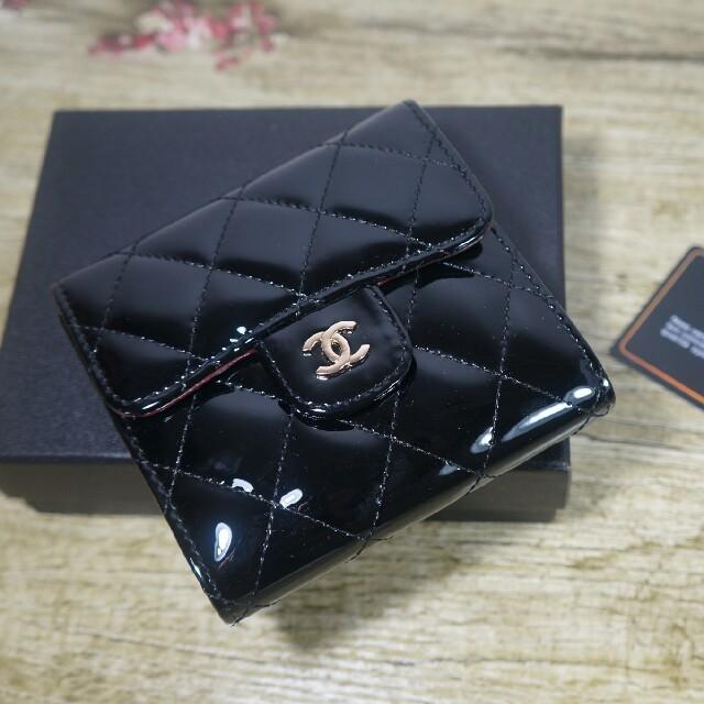エルメス ベルト 偽物 見分け方 、 CHANEL - シャネル 財布  CHANEL ブラックの通販 by バニウ's shop|シャネルならラクマ