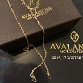 アヴァランチ(AVALANCHE)のアバランチ ロープネックレス(ネックレス)