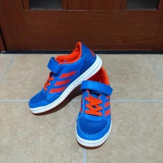 アディダス(adidas)のadidas スニーカー オレンジ&ブルー(スニーカー)