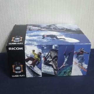 リコー(RICOH)の【新品未使用】RICOH 防水アクションカメラ WG-M1 オレンジ(ビデオカメラ)