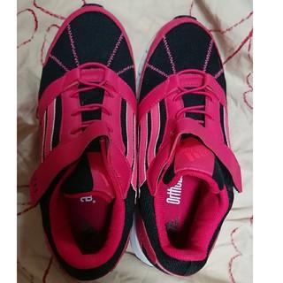 アディダス(adidas)のadidas 24.5cm 新品スニーカー赤 レッド(スニーカー)