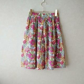 ドアーズ(DOORS / URBAN RESEARCH)のアーバンリサーチリバティフラワースカート(ひざ丈スカート)
