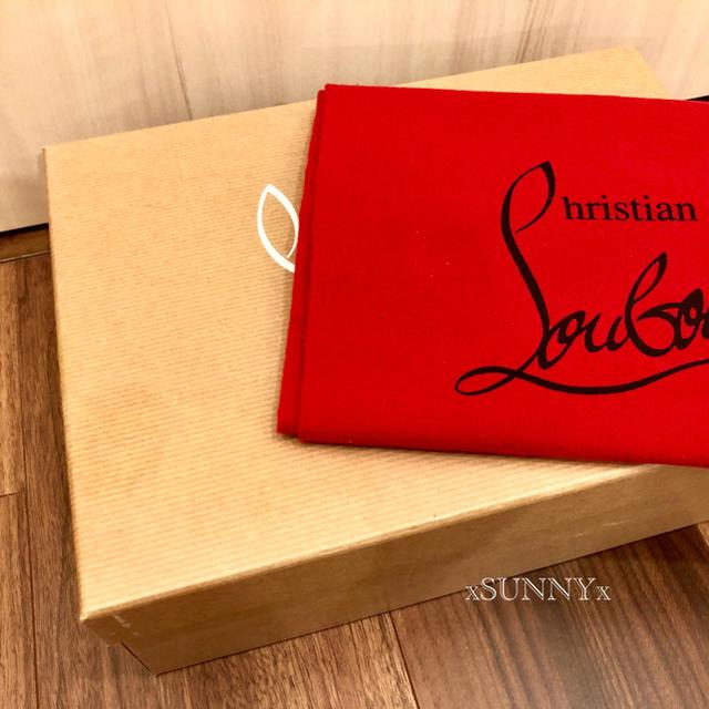Christian Louboutin(クリスチャンルブタン)のクリスチャンルブタン PVCフラットシューズ ピンク サイズ34 レディースの靴/シューズ(バレエシューズ)の商品写真
