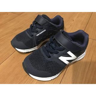 ニューバランス(New Balance)の☆ニューバランス キッズシューズ 14cm 極美品☆ネイビー(スニーカー)
