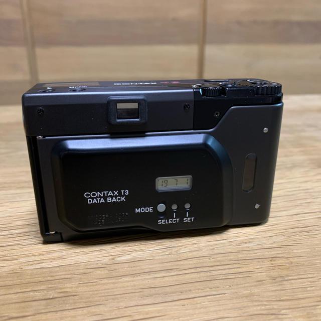 京セラ(キョウセラ)のCONTAX  T3D 後期 ダブルティース スマホ/家電/カメラのカメラ(フィルムカメラ)の商品写真