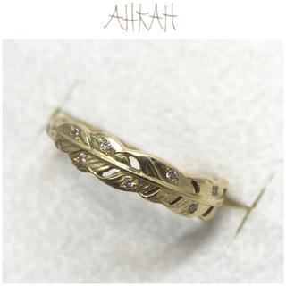 アーカー(AHKAH)のamber様専用 AHKAH K18YG アルタイル リング ダイヤ 0.06(リング(指輪))
