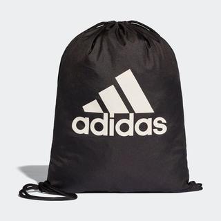 アディダス(adidas)の【新品・即納OK】adidas アディダス ビッグロゴ ジムバッグ 黒(バッグパック/リュック)