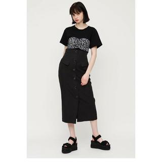 スライ(SLY)のsly ビスチェドッキングシャツ(Tシャツ(半袖/袖なし))