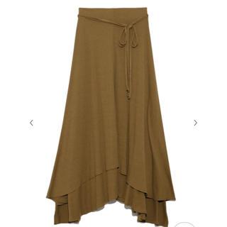 ミラオーウェン(Mila Owen)のテレコスカート(ロングスカート)
