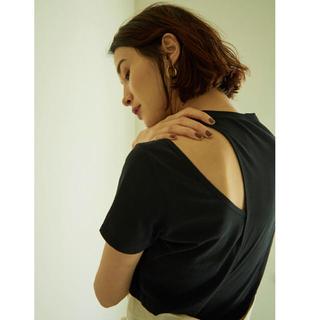 アメリヴィンテージ(Ameri VINTAGE)のリトルスージー アシンメトリーレイヤードトップス(Tシャツ(半袖/袖なし))