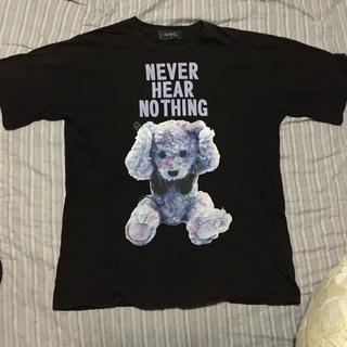 ミルクボーイ(MILKBOY)のMILKBOY tシャツ クマ 黒 milk boy (Tシャツ/カットソー(半袖/袖なし))