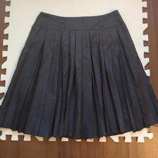 プーラフリーム(pour la frime)のpour la frime プリーツスカート フレアスカート(ひざ丈スカート)