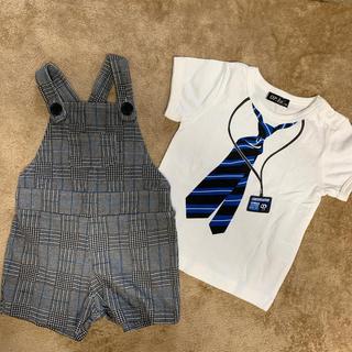 シマムラ(しまむら)の90センチ 男の子 セット服 Tシャツ ズボン(ドレス/フォーマル)