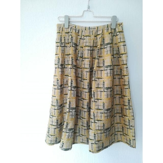 ミナペルホネン(mina perhonen)のサリースコット スカート 刺繍(ロングスカート)