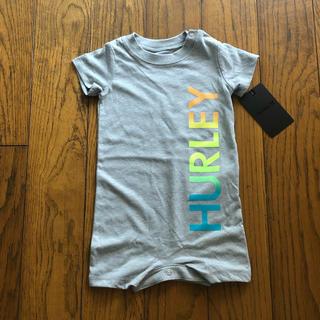 ハーレー(Hurley)のHurley新品ボーイズ用ロンパース グレー 9M(ロンパース)