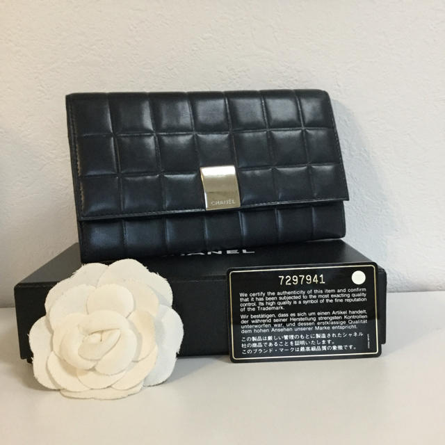 オリエント 時計 偽物 1400 | CHANEL - 【CHANEL】ラムスキン❤️チョコバー二つ折り長財布✨全付属品付きお値下げ‼️の通販 by brandr|シャネルならラクマ